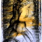 Dieux sont ici nulle part (détail), 1996, médiums mixtes